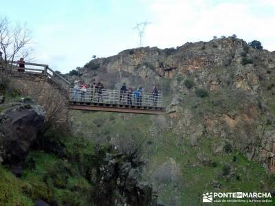 Parque Natural Arribes de Duero;puente san jose rutas montaña madrid viajes de fin de año